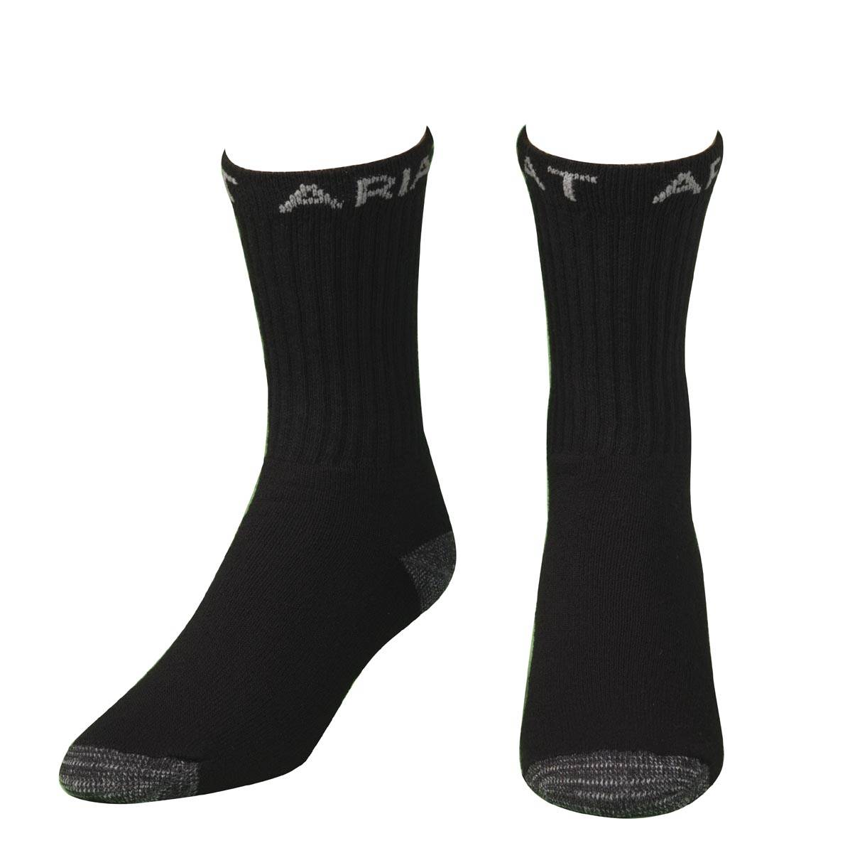 ARIAT Men's Work Boot Crew Sock, 3 Pack