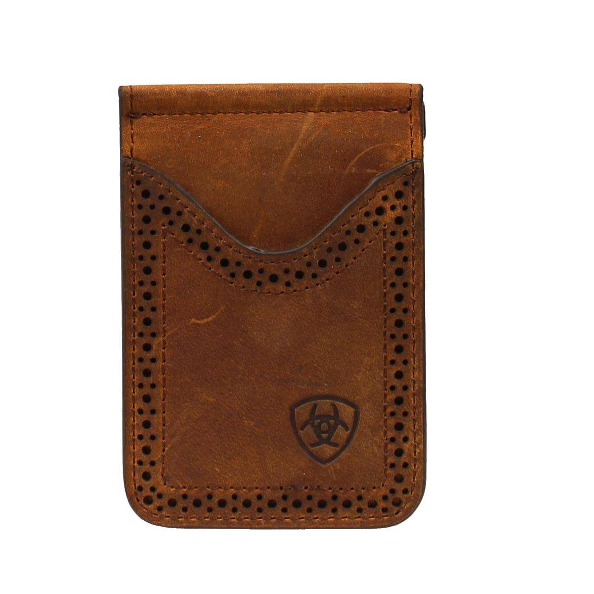 ARIAT Men's Perforated Edge Money Clip
