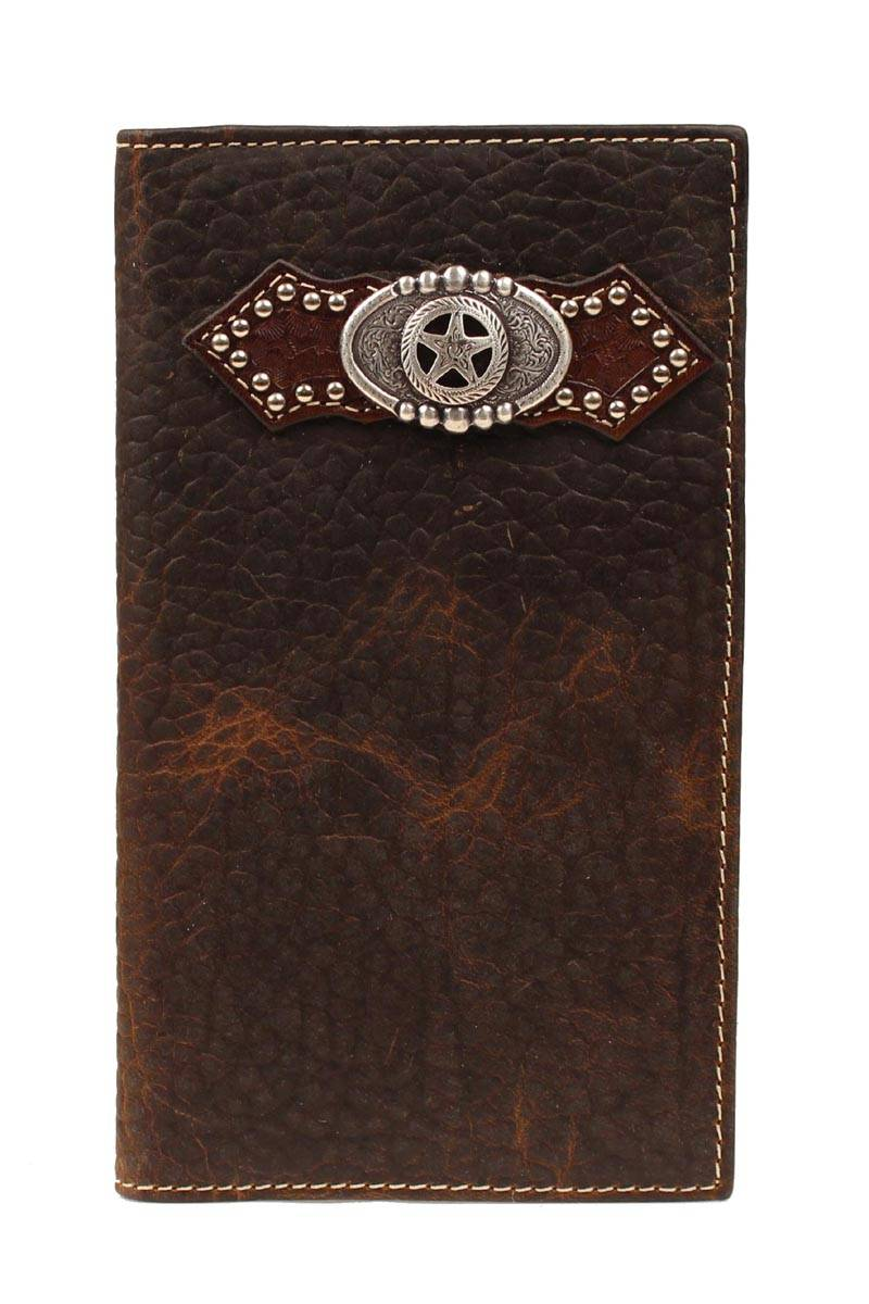 ARIAT Men's Rodeo Wallet with Texas Star Concho