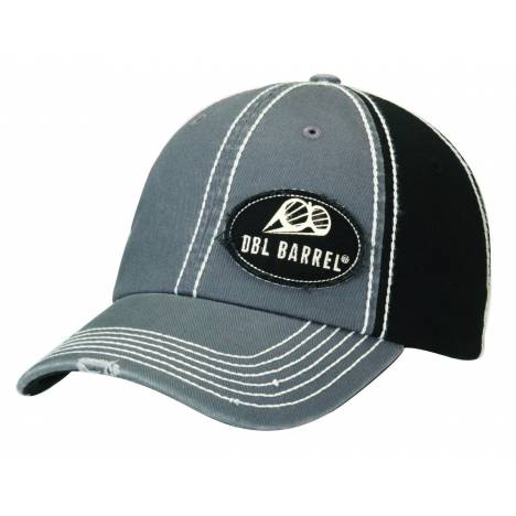 DBL Barrel Patch Distressed Brim Cap