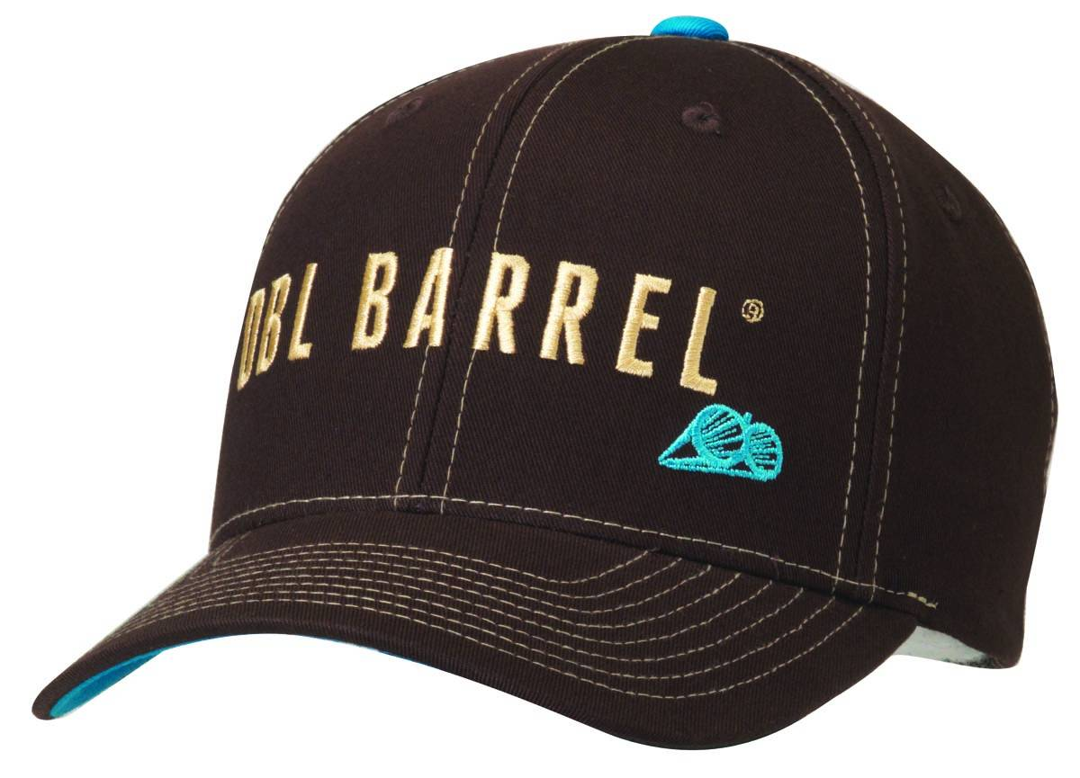 DBL Barrel Mens Logo Embroidered Flex Fit Cap