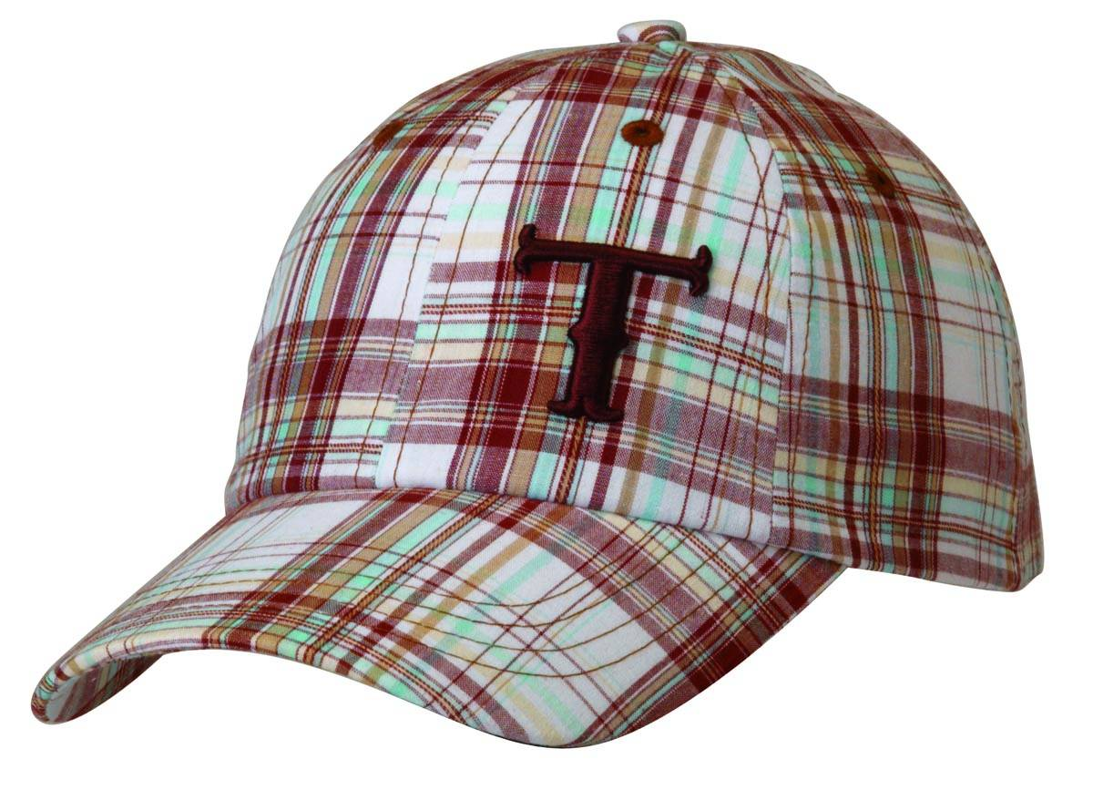 Twister Plaid Logo Baseball Cap