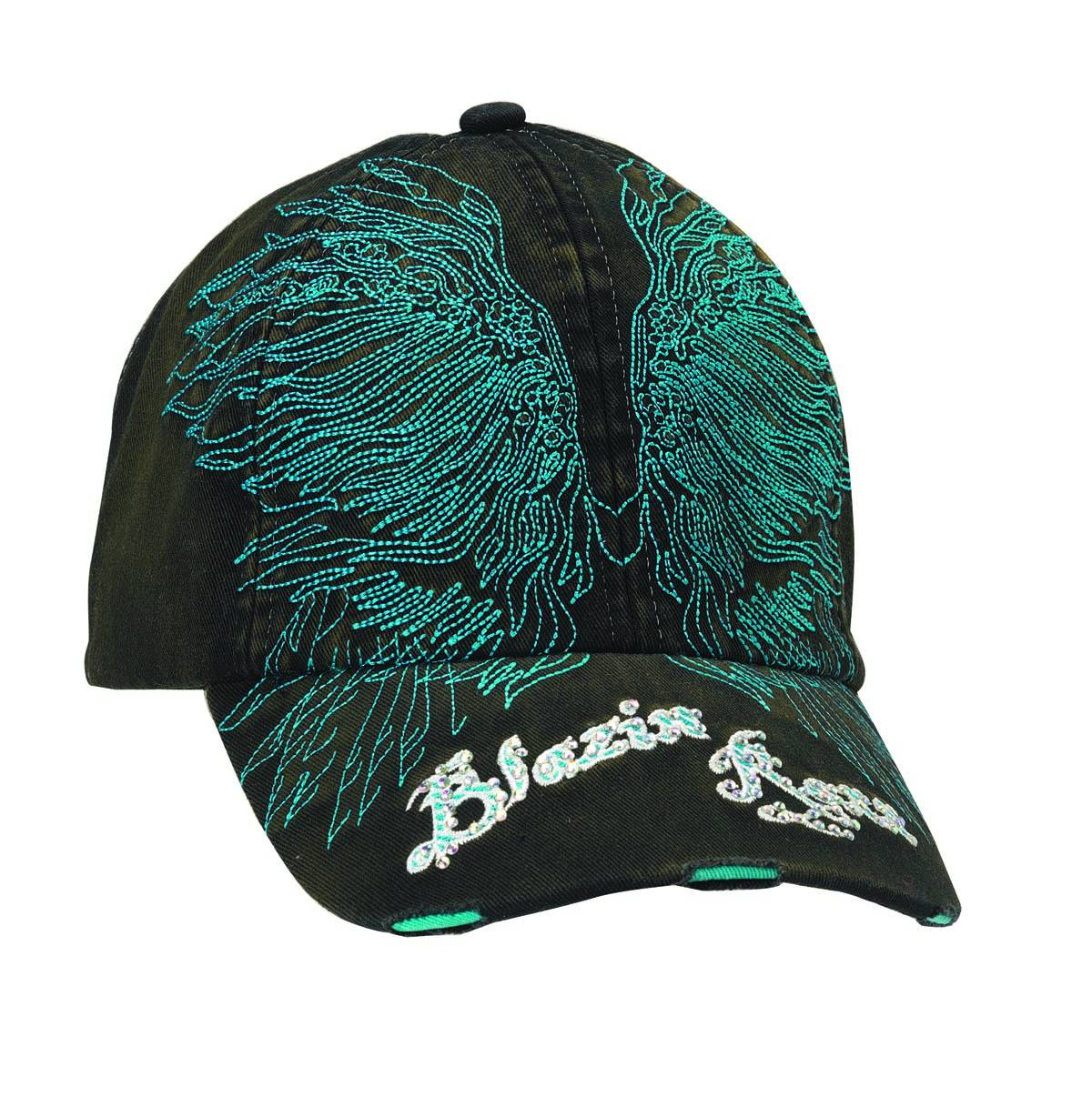 Blazin Roxx Women's Embroidered Wings Cap