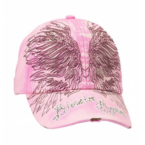 Blazin Roxx Womens Embroidered Wings Cap