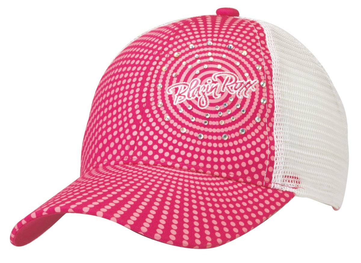 Blazin Roxx Women's Crystal Dot Baseball Cap