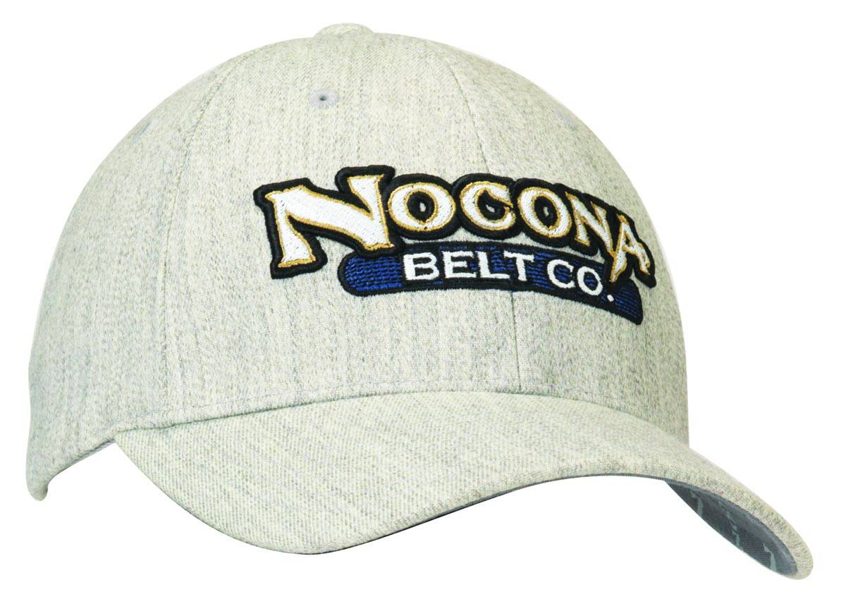 Nocona Wool Raised Logo Cap