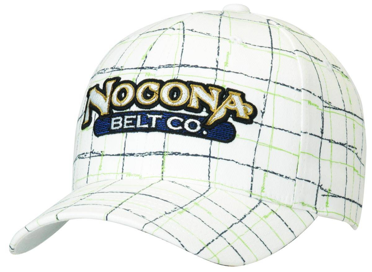 Nocona Plaid Logo Baseball Cap