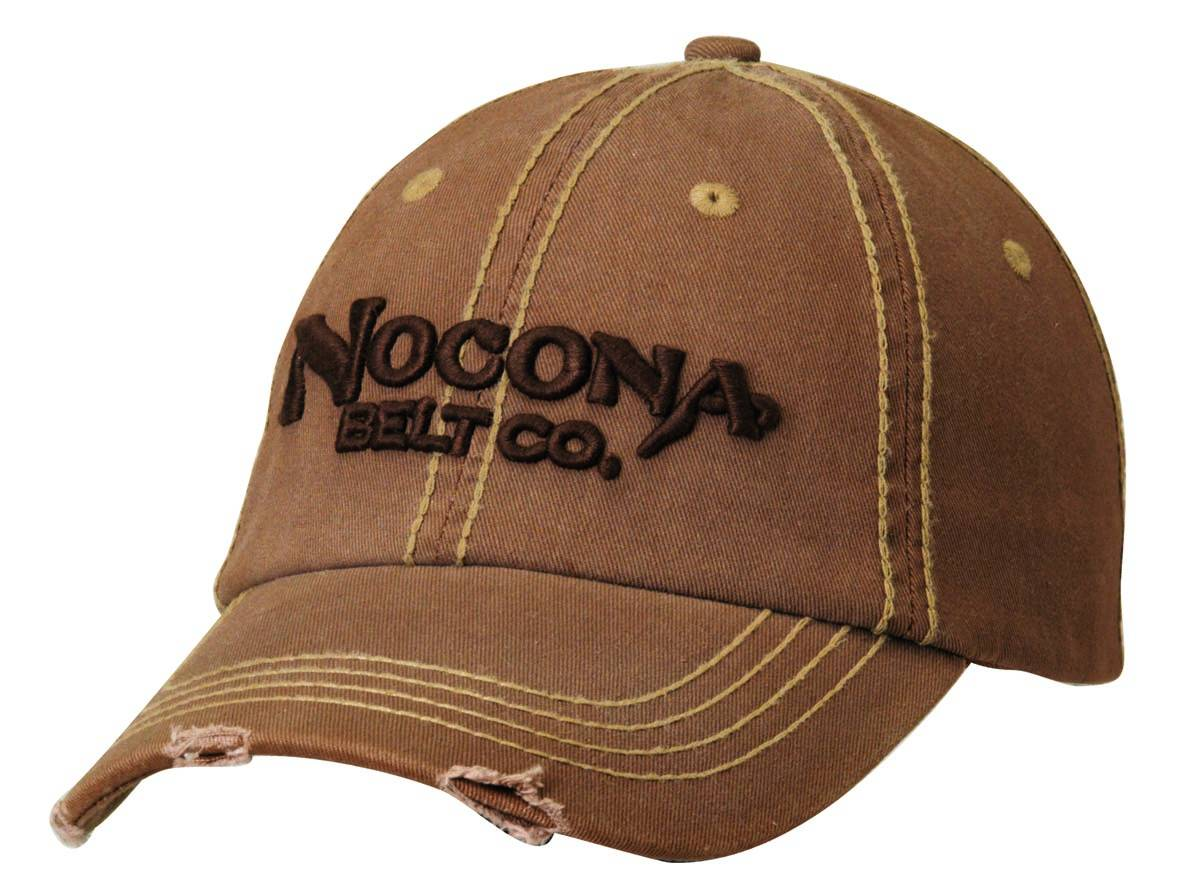 Nocona Washed Distressed Baseball Cap