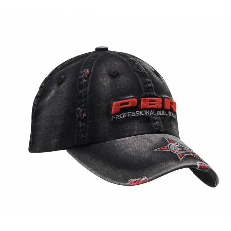 PBR Distressed Bull & Star Cap