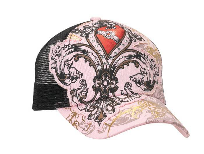 Blazin Roxx Ladies Embellished Trucker Cap