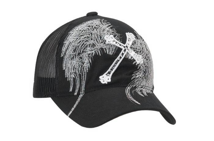 Blazin Roxx Mesh Back Cross/Wing Cap