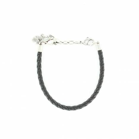 Western Charm Braided Leather Bracelet