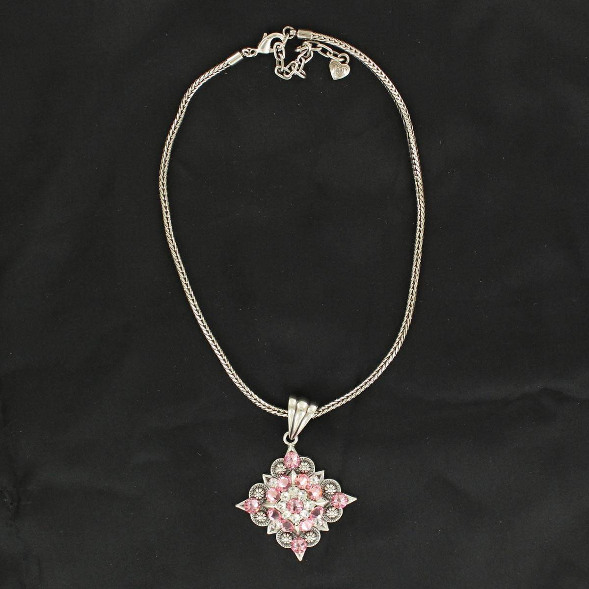 Blazin Roxx Diamond Berry Concho Necklace