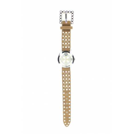 Blazin Roxx Womens Round Crystal Watch