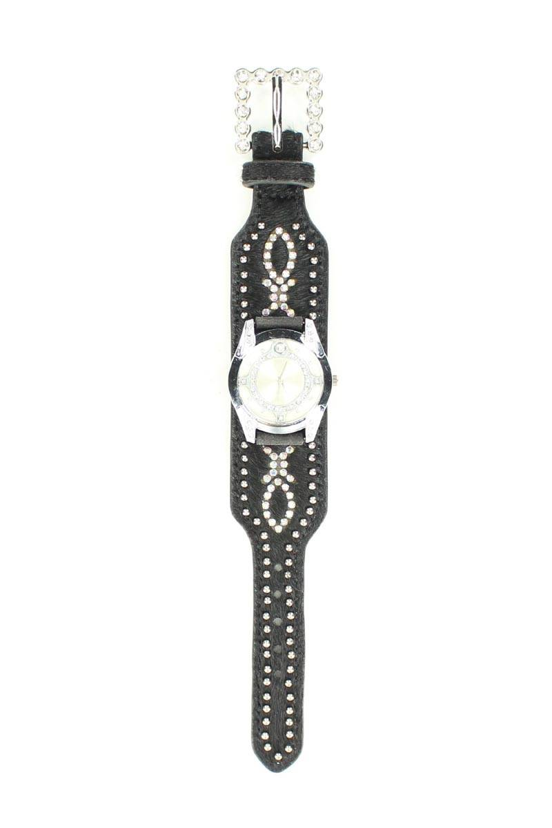 Blazin Roxx Women's Swarovski Crystal Hair Watch