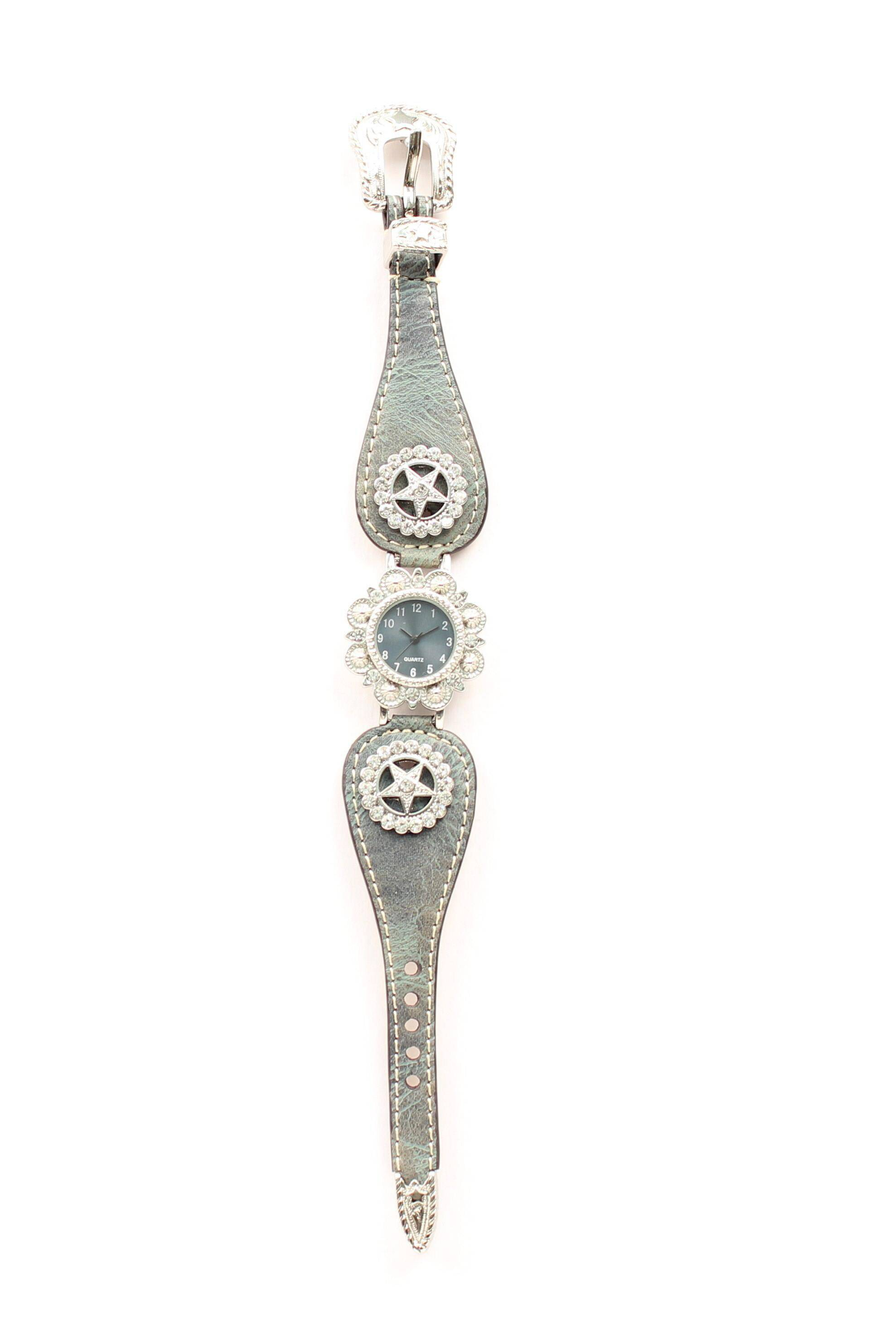 Blazin Roxx Womens Scallop Texas Star Watch