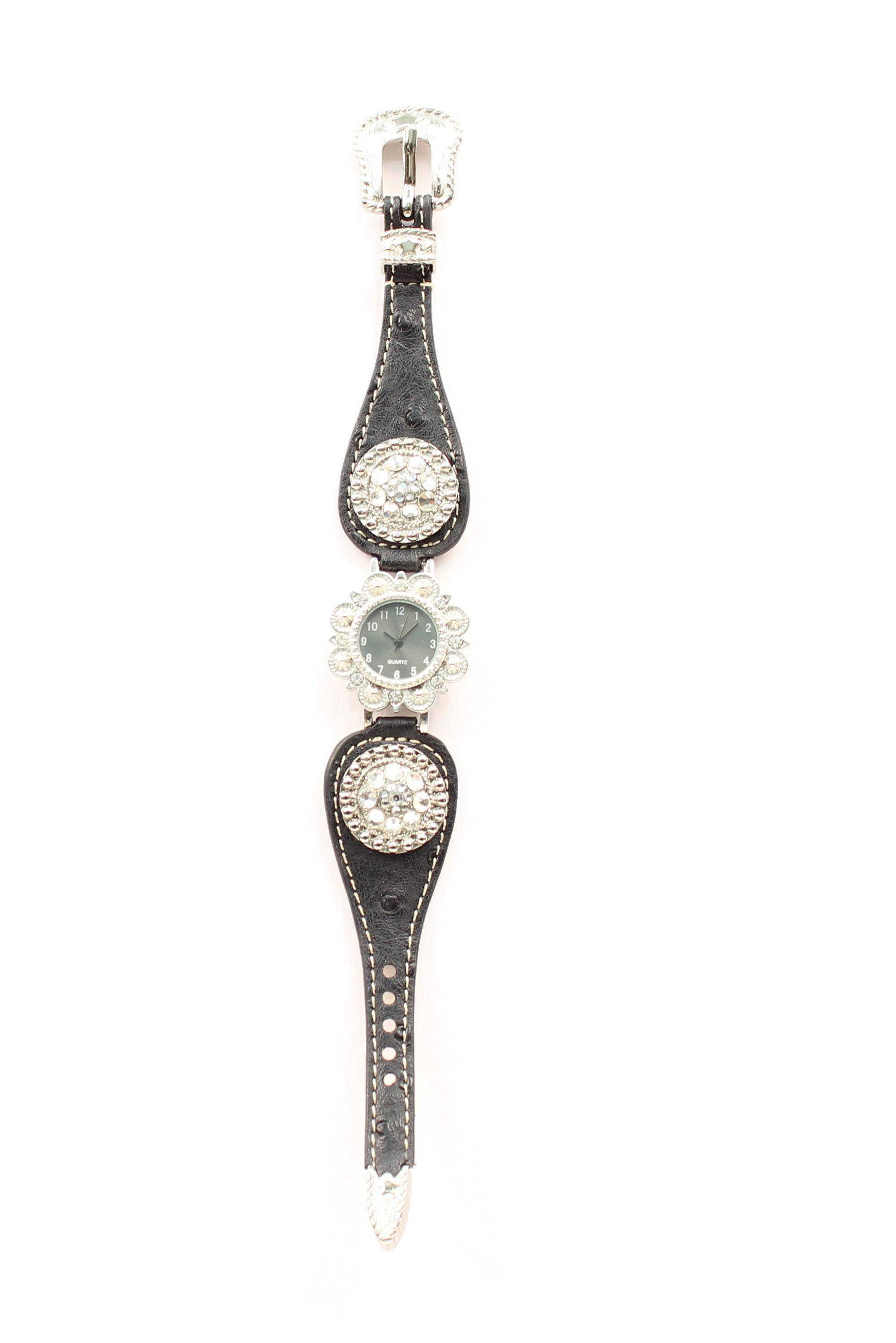 Blazin Roxx Women's Scallop Concho Watch