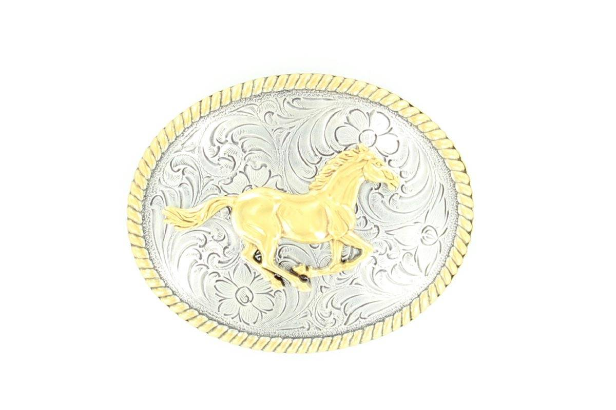 Nocona Ladies Running Horse Buckle