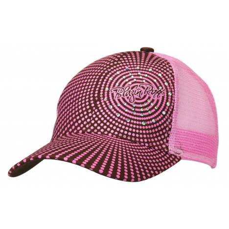 Blazin Roxx Womens Crystal Dot Baseball Cap