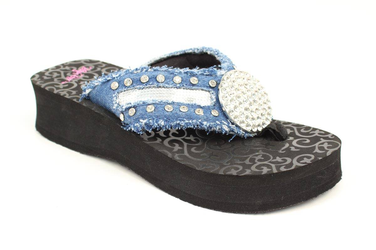 Blazin Roxx Ladies Morgan Flip Flops