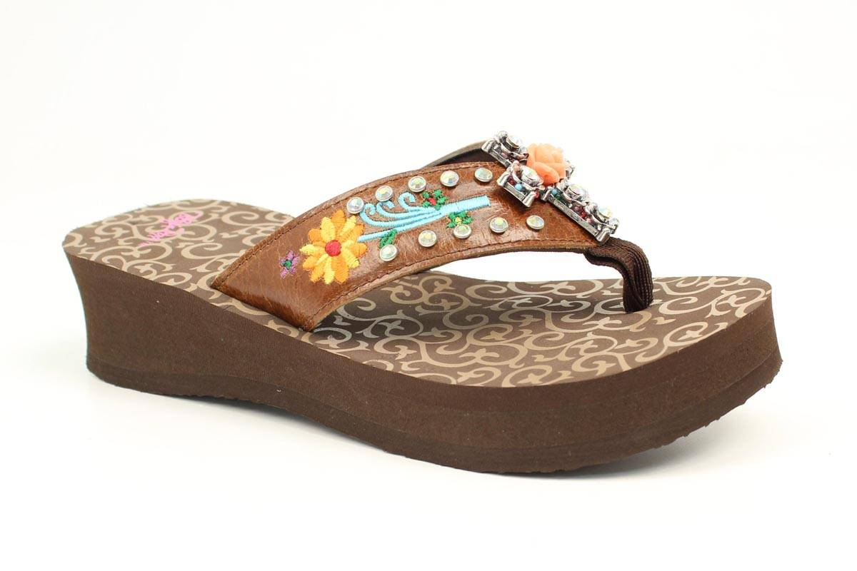 Blazin Roxx Ladies Juley Flip Flops