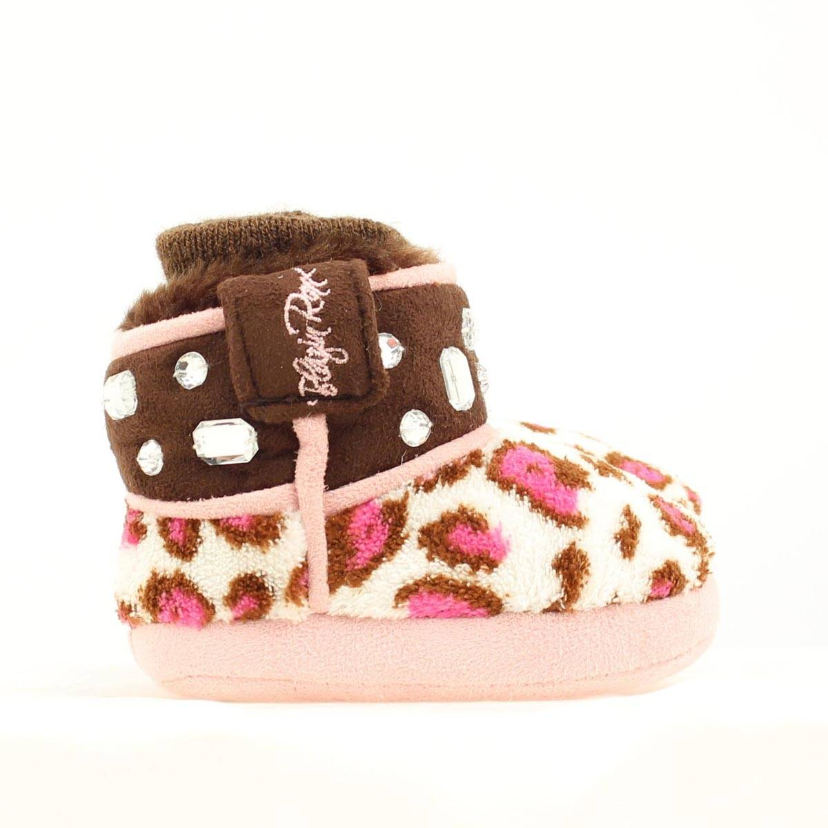 Blazin Roxx Infant Leopard Bottom Slipper