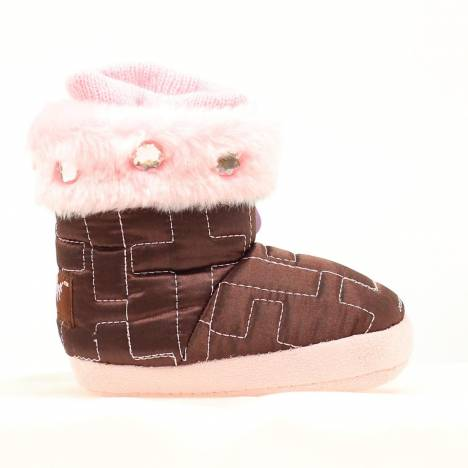 Blazin Roxx Infant Quilt Cross Slipper