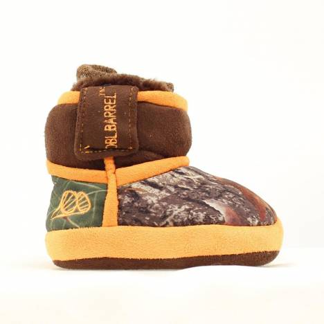 DBL Barrel Infant Fur Cammo Slipper