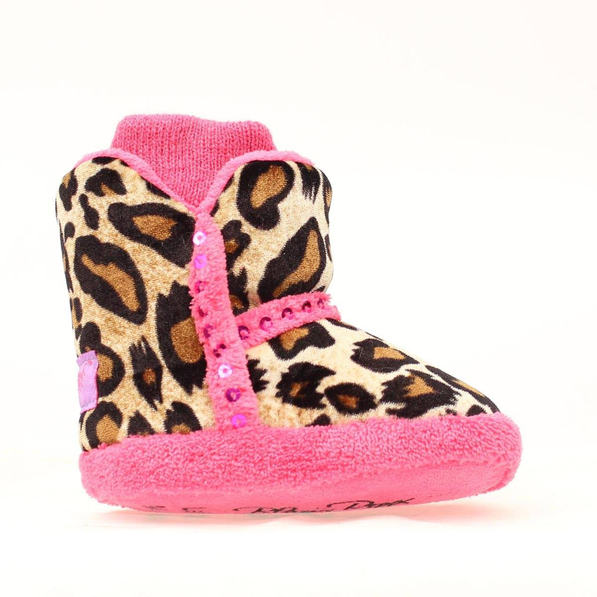 Blazin Roxx Infant Sequin Boot Slipper