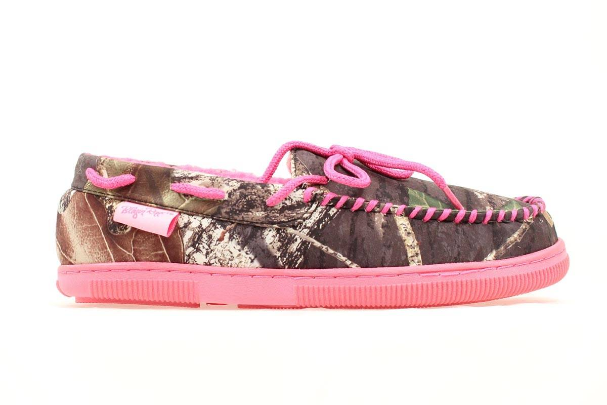 Blazin Roxx Ladies Camo Moccasin House Shoe