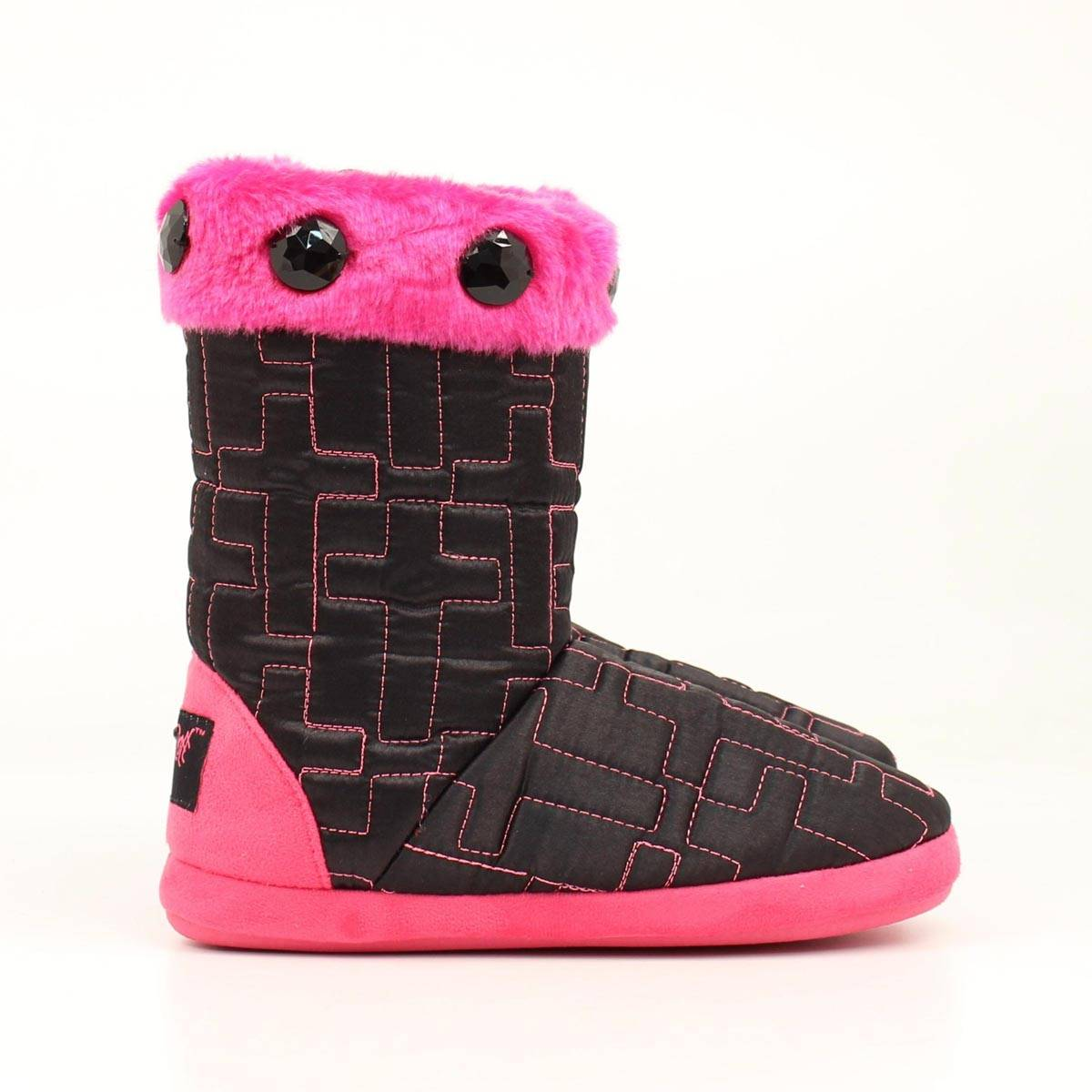 Blazin Roxx Youth Quilt Cross Boot Slipper