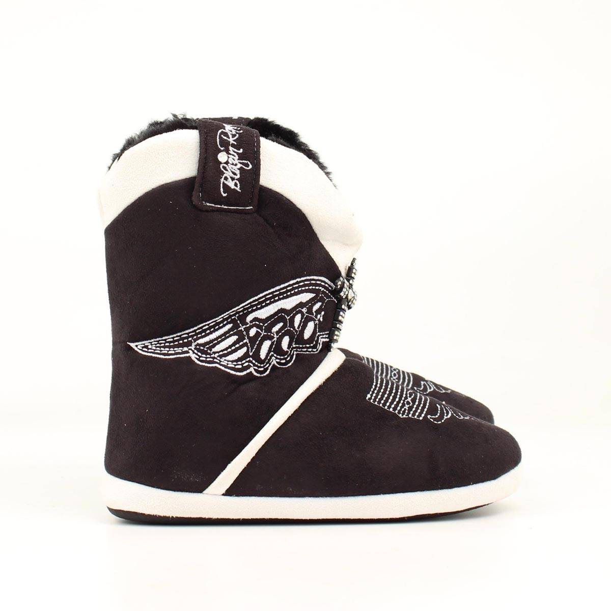 Blazin Roxx Youth Wing with Cross Boot Slipper