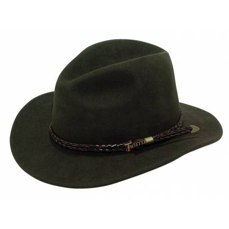 Twister Omaha Crushable Western Hat