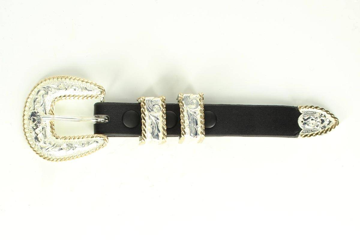 Crumine Four Piece Buckle Set