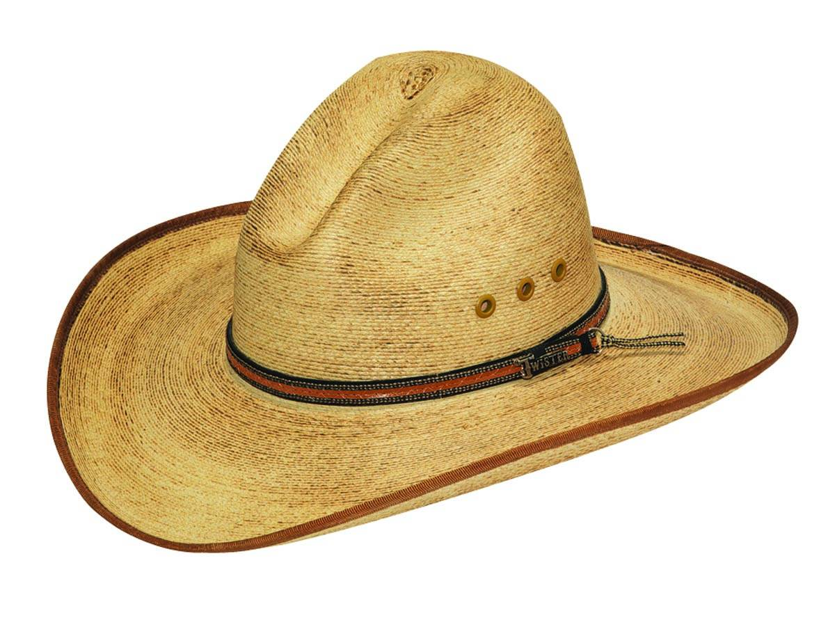 Twister Palm Leaf Bound Edge Cowboy Hat