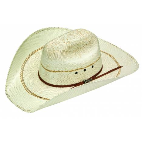 Twister Mens Bangora Straw Cowboy Hat