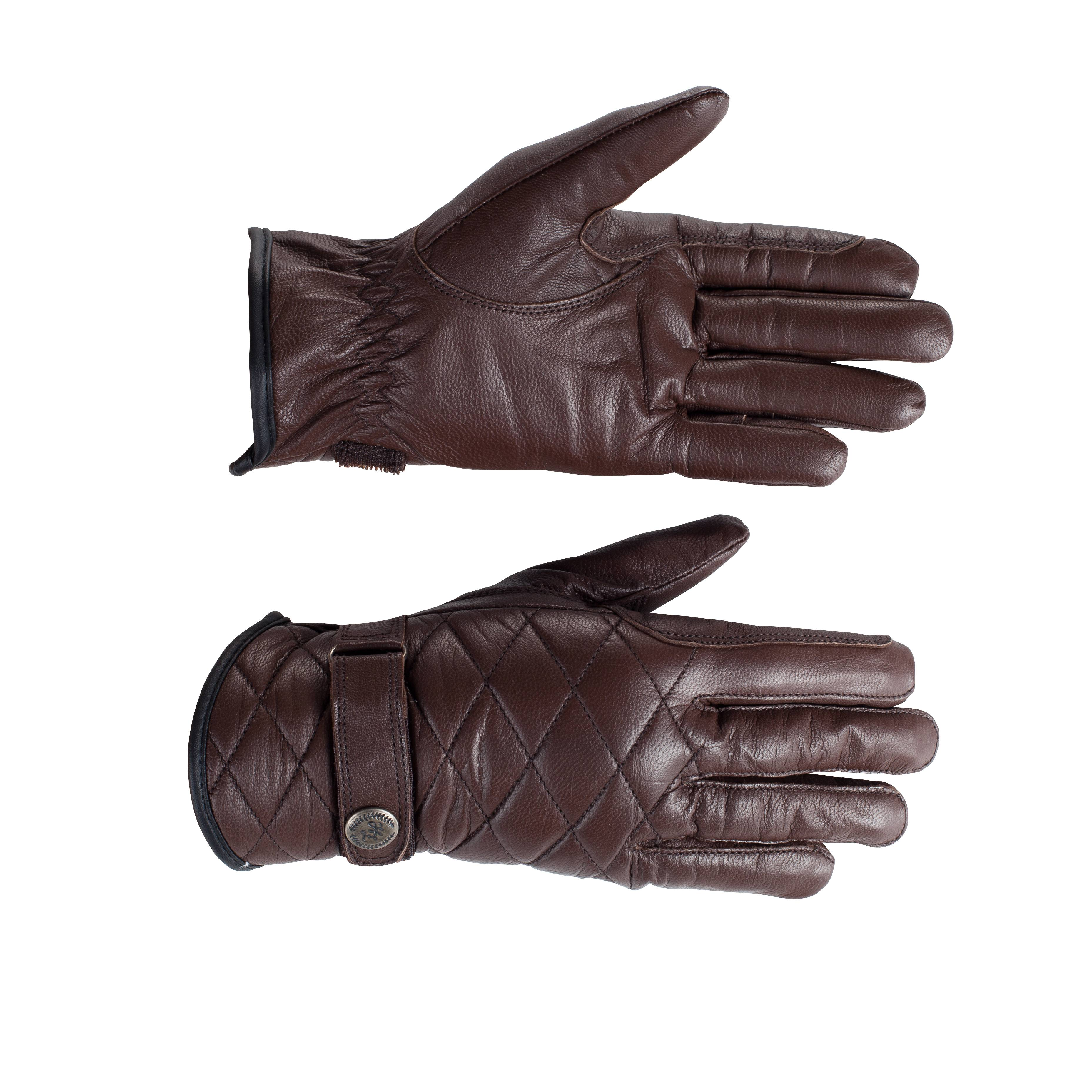 Horze Selena Quilted Leather Gloves