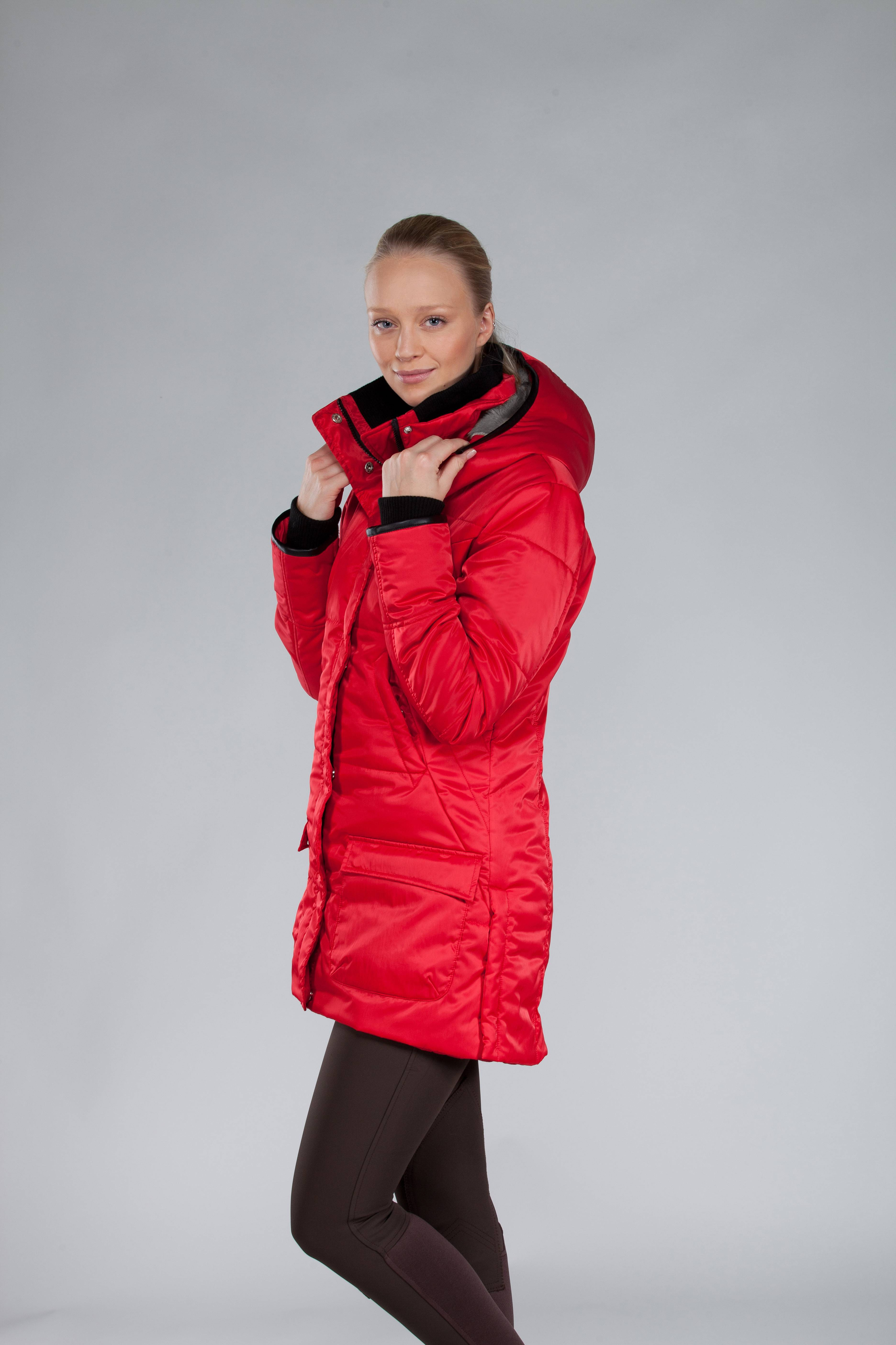 B Vertigo Celisia Ladies Long Coat