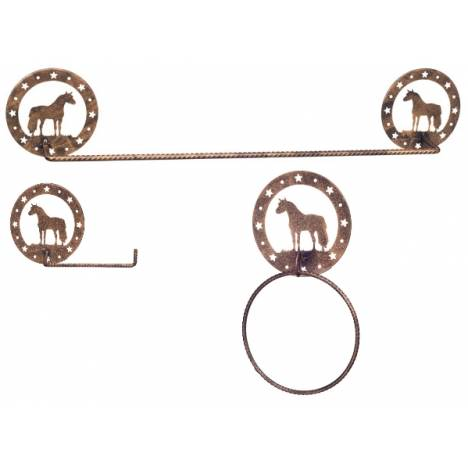 Gift Corral 3-Piece Bathroom Set - Miniature Horse