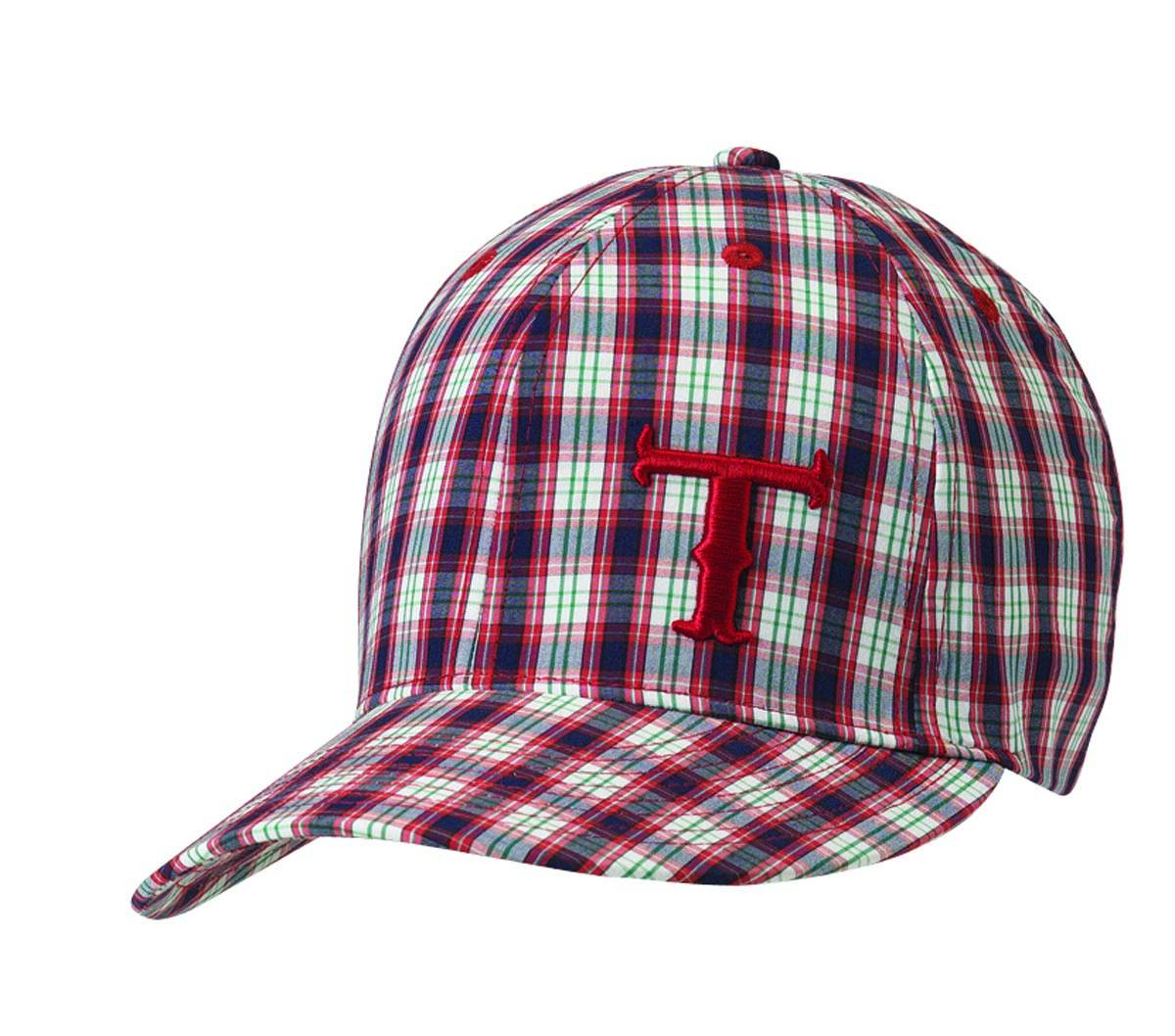 Twister Youth Logo Plaid Baseball Cap