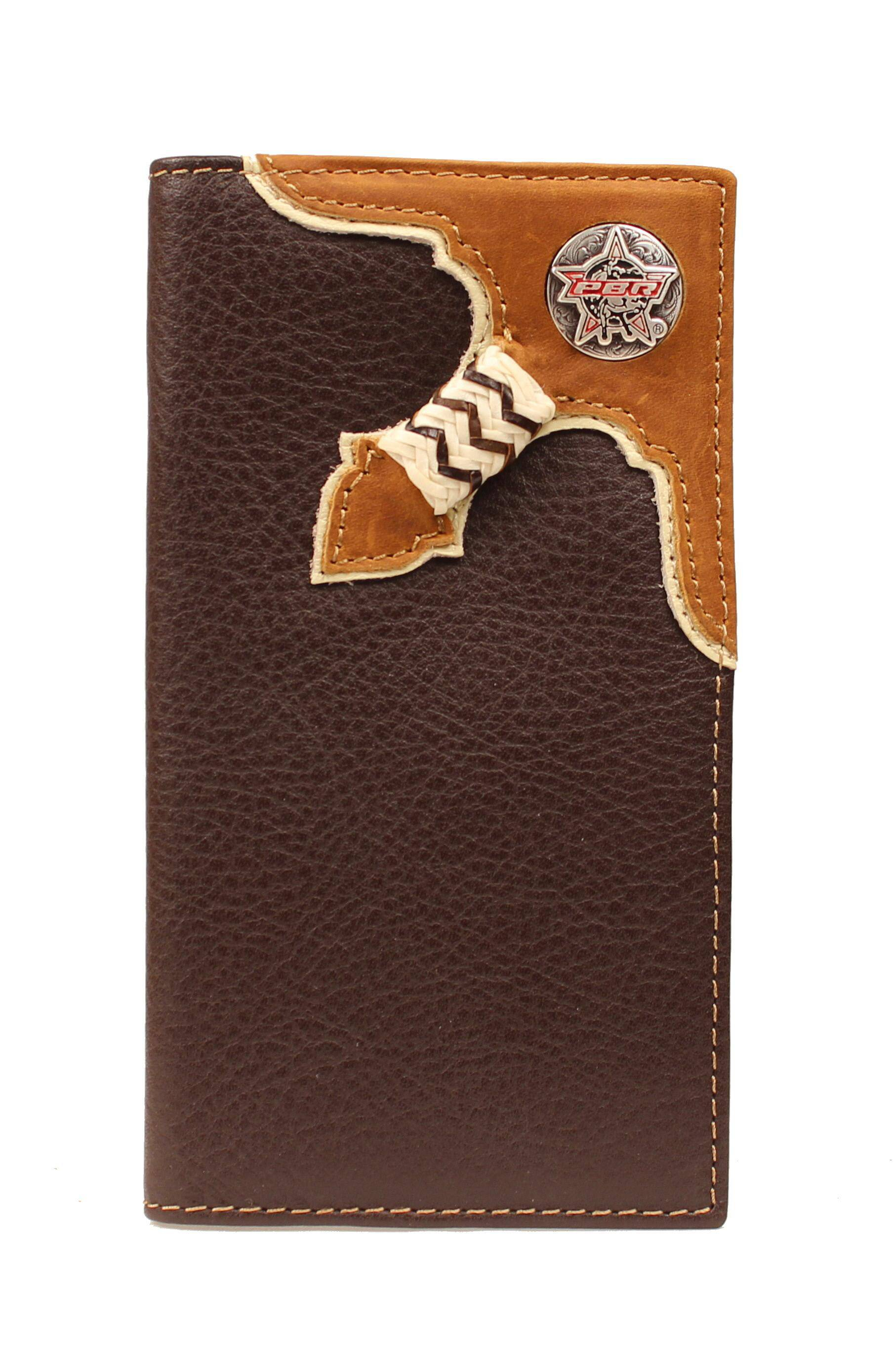 PBR Bullhide with Knot Rodeo Wallet