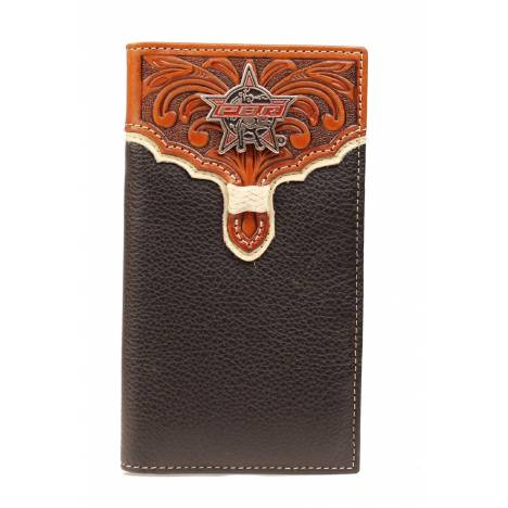PBR Rodeo Tooled Overlay Star Wallet