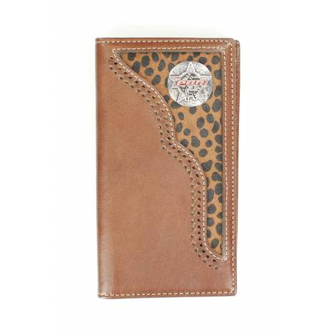 PBR Rodeo Leopard Hair Bull Rider Wallet