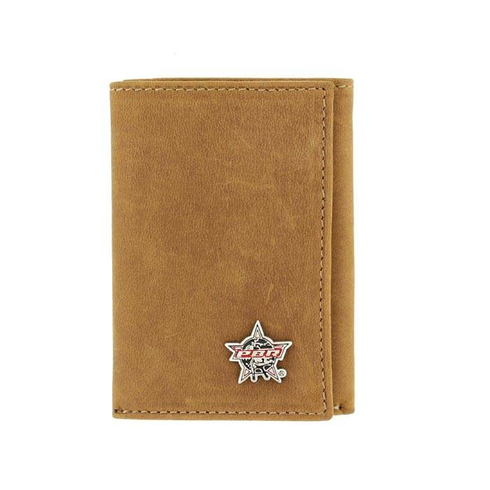 PBR Trifold Leather Wallet
