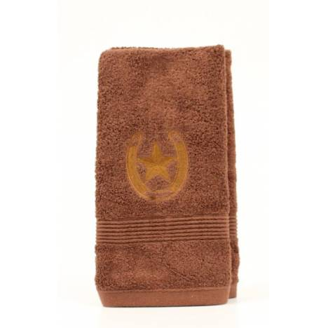 Western Moments Horseshoe Star Hand Towels