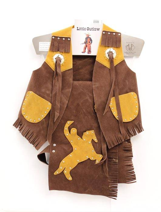 Big Time Rodeo Youth Costume Bull Rider Vest