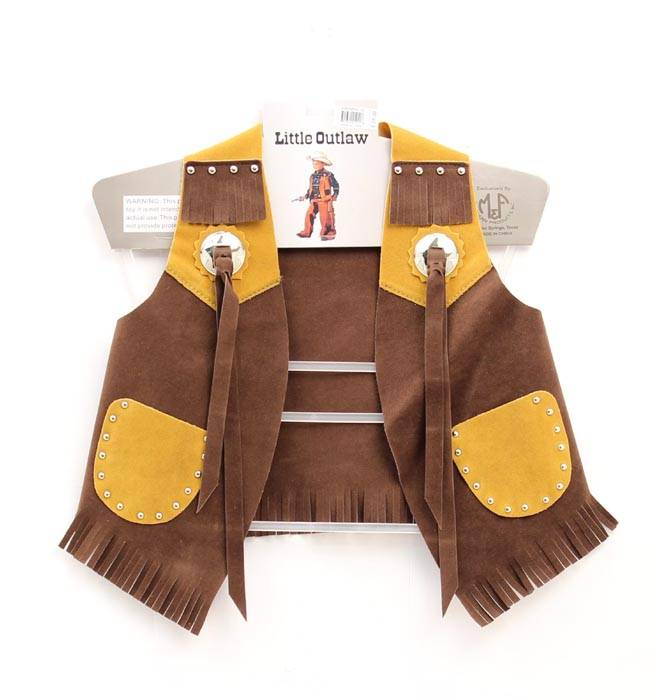 Big Time Rodeo Kids Suede Costume Vest