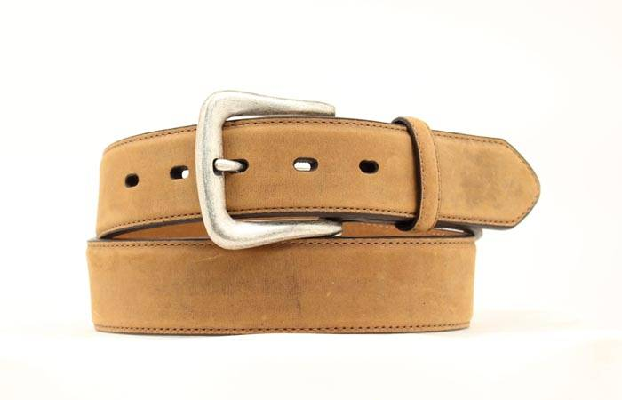 Nocona Men's Smooth Leather Belt