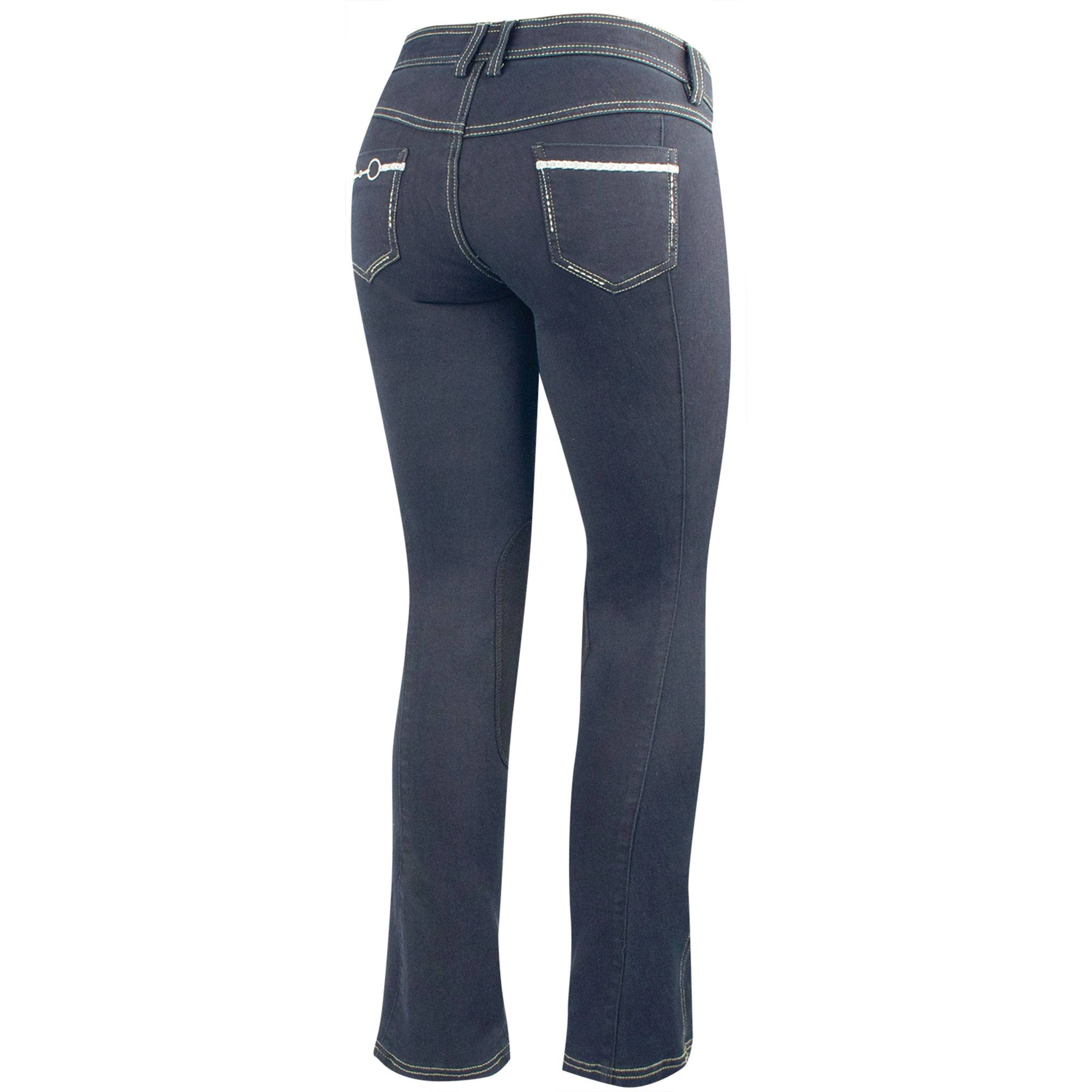 Irideon Verano Bit & Reins Denim Breech - Juniors