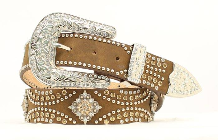 Nocona Diamond Berry/Crystal Bling Belt